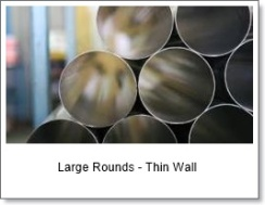 Large Rounds - thin wall