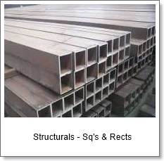 Structurals - sq's & rects